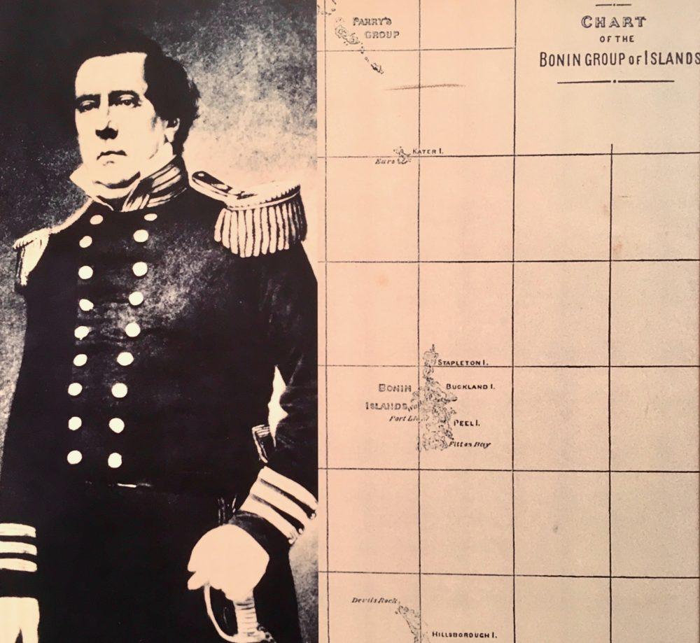 ペリー・航海図