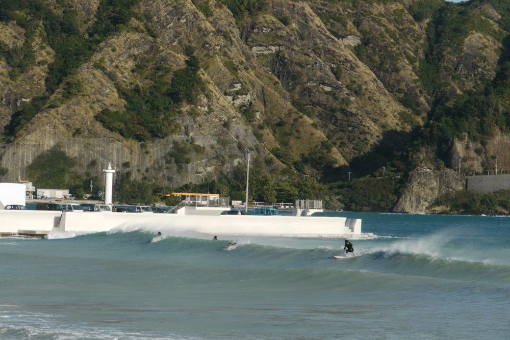 前浜サーフィン