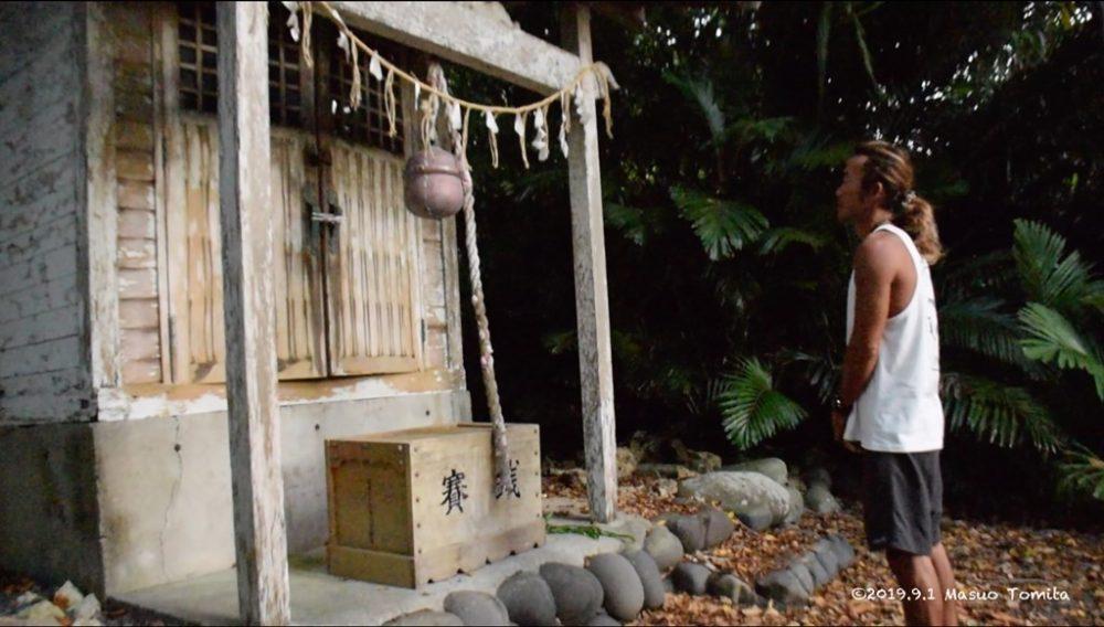 月ヶ岡神社参拝