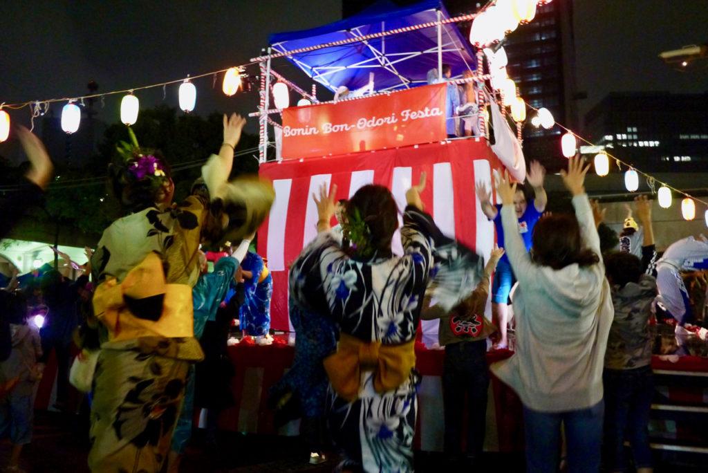 小笠原の盆踊り