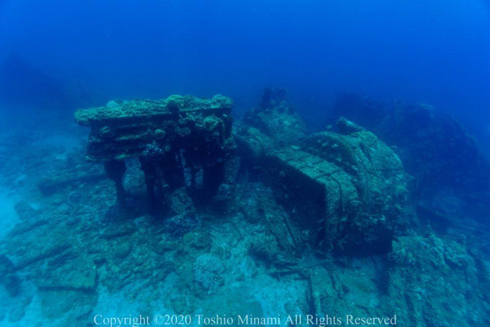 沈船ダイビングバラ沈02