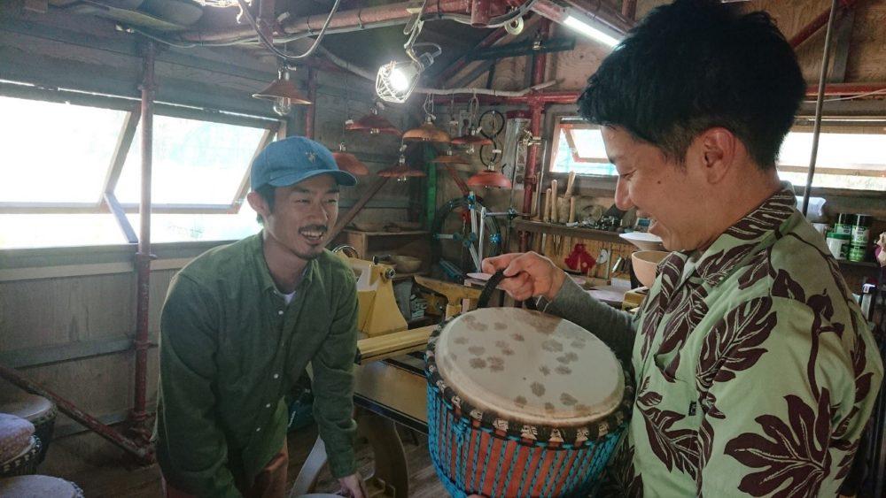 太鼓と器Kimuranoki 代表木村さん