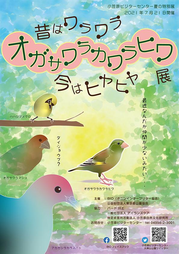 01_オガヒワ展ポスター